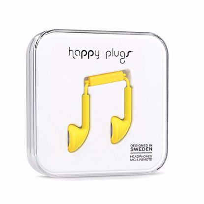 Picture of Trade Happy Plugs Earbud Wired Earphones in Yellow