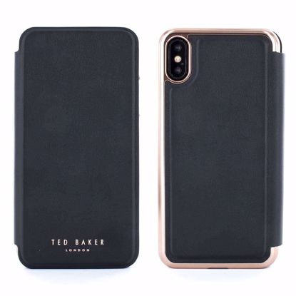 Picture of Ted Baker Ted Baker Shannon Folio Case for Apple iPhone XS/X in Black