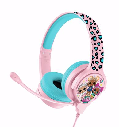 Picture of OTL OTL LOL Interactive Headphones with Boom Microphone in Pink/Blue