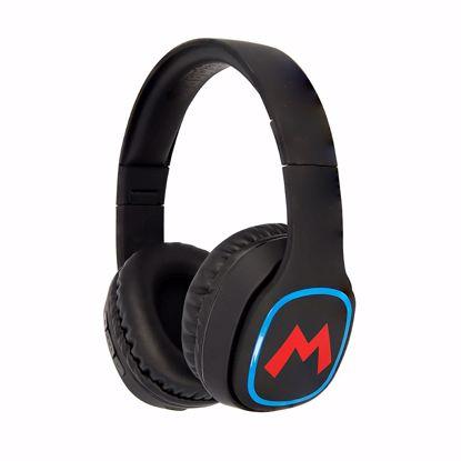 Picture of OTL OTL Super Mario Icon Teen Bluetooth Headphones in Black